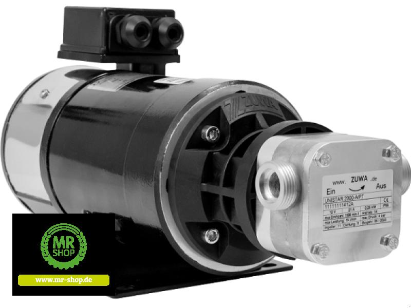 Tankanlage a típus Zuwa UNISTAR 2000-A/PT, 1.400, 400 V mit Motor, Kabel und Stecker, Neumaschine ekkor: Saerbeck (Kép 1)