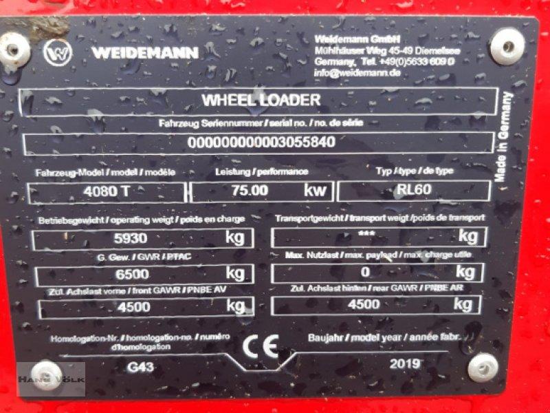 Teleradlader des Typs Weidemann  4080T, Gebrauchtmaschine in Antdorf (Bild 6)