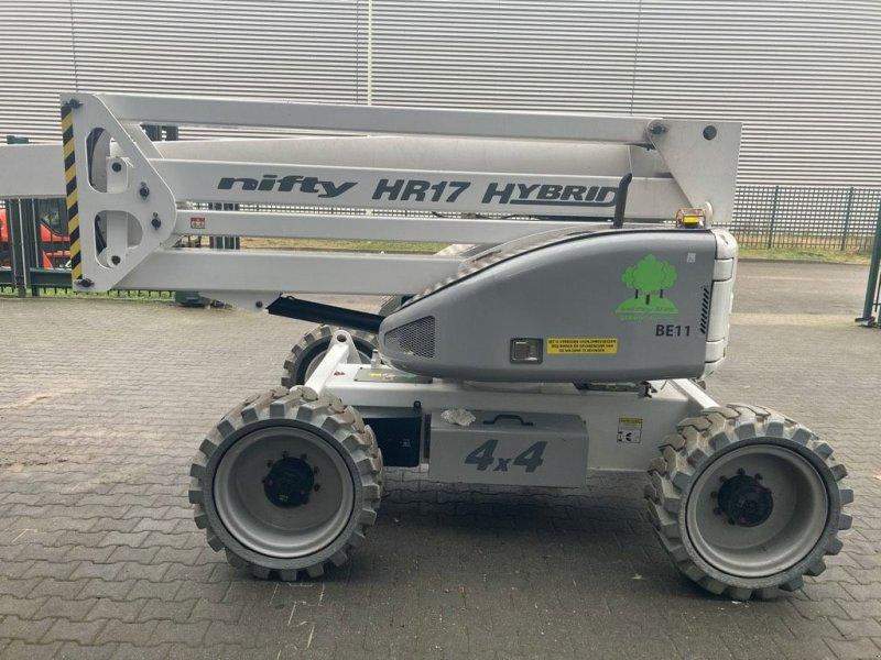 Teleskoparbeitsbühne a típus Niftylift HR 17 Hybrid 4x4, Gebrauchtmaschine ekkor: WIJCHEN (Kép 1)