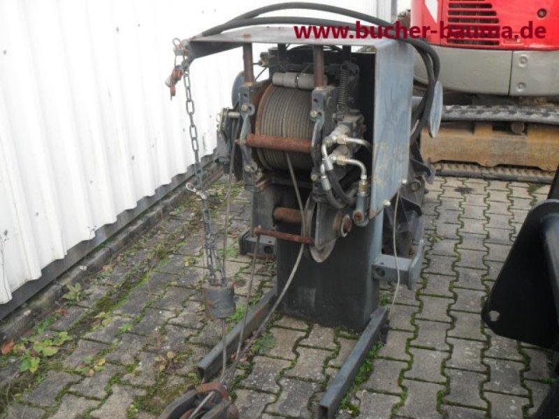 Teleskoplader a típus Bobcat Anbauseilwinde, Gebrauchtmaschine ekkor: Obrigheim (Kép 1)
