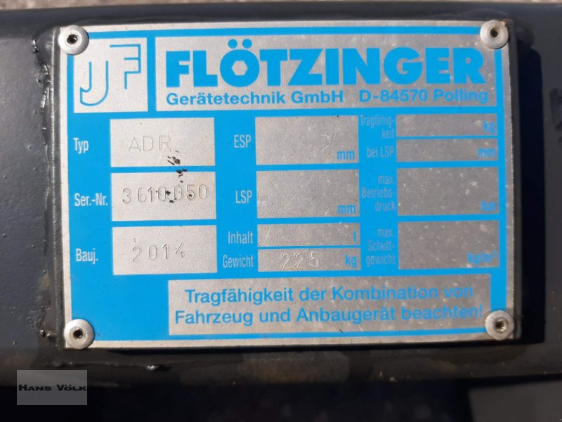 Teleskoplader des Typs Flötzinger Adapterrahmen Bobcat-Merlo, Gebrauchtmaschine in Antdorf (Bild 2)