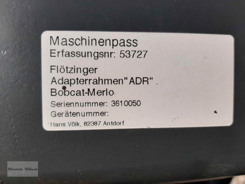 Teleskoplader des Typs Flötzinger Adapterrahmen Bobcat-Merlo, Gebrauchtmaschine in Antdorf (Bild 3)