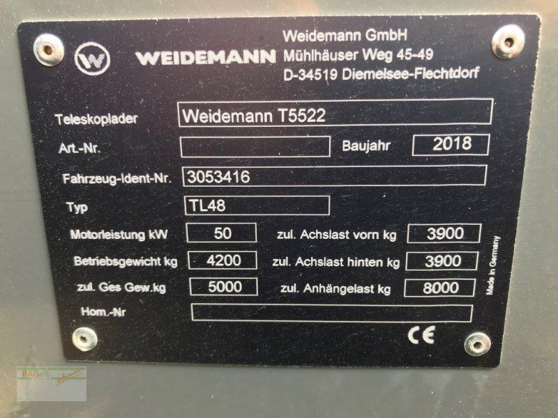 Teleskopstapler des Typs Weidemann  T 5522, Gebrauchtmaschine in Ingelfingen-Stachenh (Bild 9)