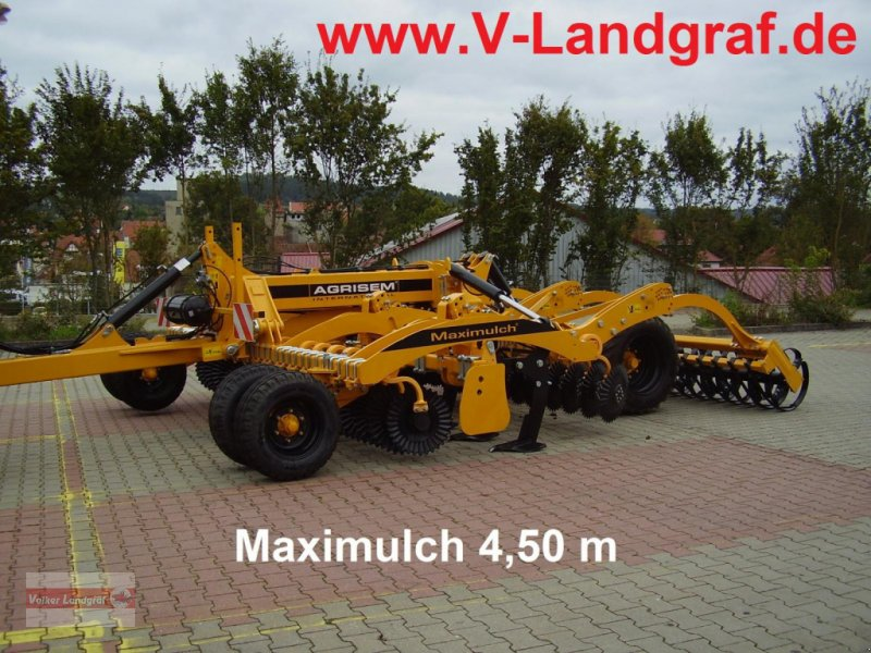 Tiefenlockerer des Typs Agrisem Maximulch, Neumaschine in Ostheim/Rhön (Bild 1)
