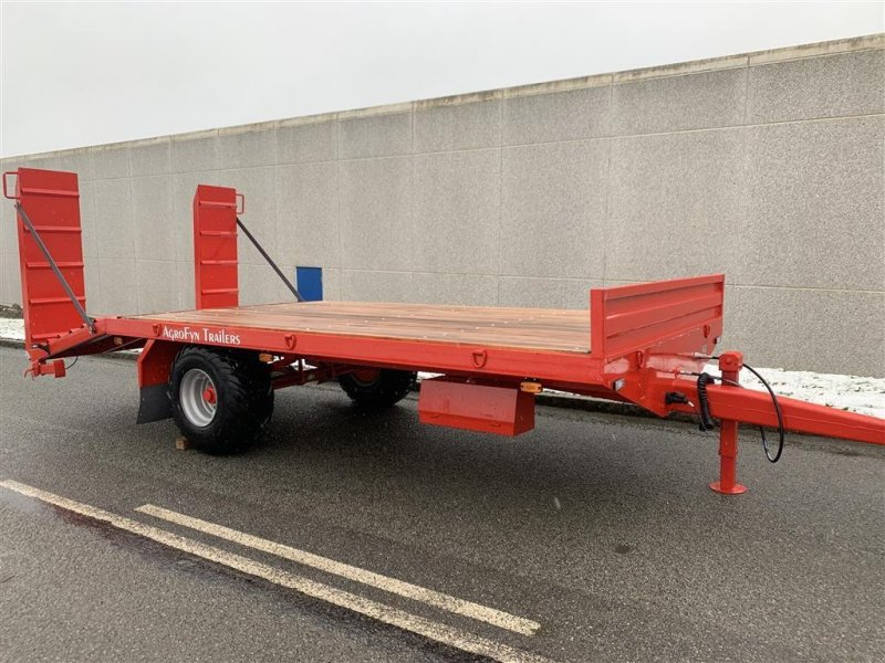 Tieflader tipa AS Trailers 6 tons maskintrailer, Gebrauchtmaschine u Ringe (Slika 1)