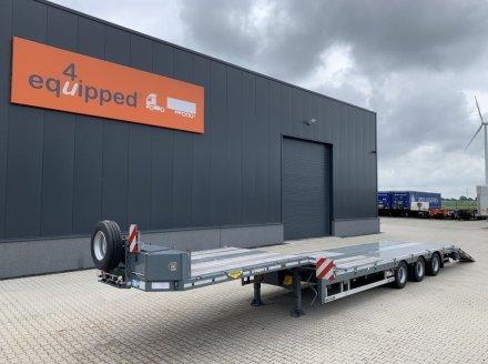 Broshuis 3ASD 6.20m extendable lowloader, steering-axle, NL-trailer, APK: tréler