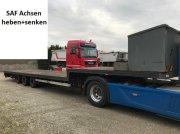 Tieflader typu F Tieflader gekröpft 13,60m lang EZ 2001, Gebrauchtmaschine w Großkarolinenfeld bei Rosenheim / B15