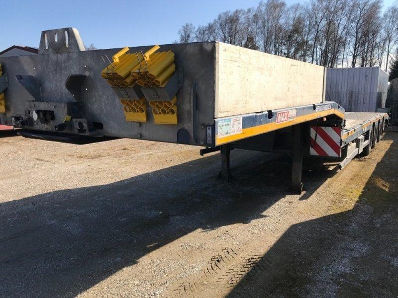 Tieflader des Typs Faymonville SEMI TIEFLADER Ausziehbar+4500mm Lenkachse EZ 2016, Gebrauchtmaschine in Großkarolinenfeld bei Rosenheim / B15 (Bild 1)