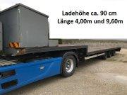 Tieflader des Typs Fliegl Tieflader 13,60m gekröpft Ladehöhe 90cm, Gebrauchtmaschine in Großkarolinenfeld bei Rosenheim / B15