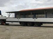 Fliegl Tieflader 13,65m gekröpft mit Containeraufnahme EZ 2008 Tieflader