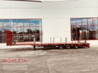 Goldhofer SPN-L 3 3 Achs Mega Plateau Satteltieflader, gel Low bed trailer
