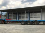 Tieflader des Typs K Tieflader gekröpft/Lenkachse/Containeraufnahme/EZ2012 in Großkarolinenfeld bei Rosenheim / B15