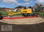 Tieflader typu Kobzarenko Tieflader 9t 7x2,5m Druckluft, Neumaschine w Tiefenbach