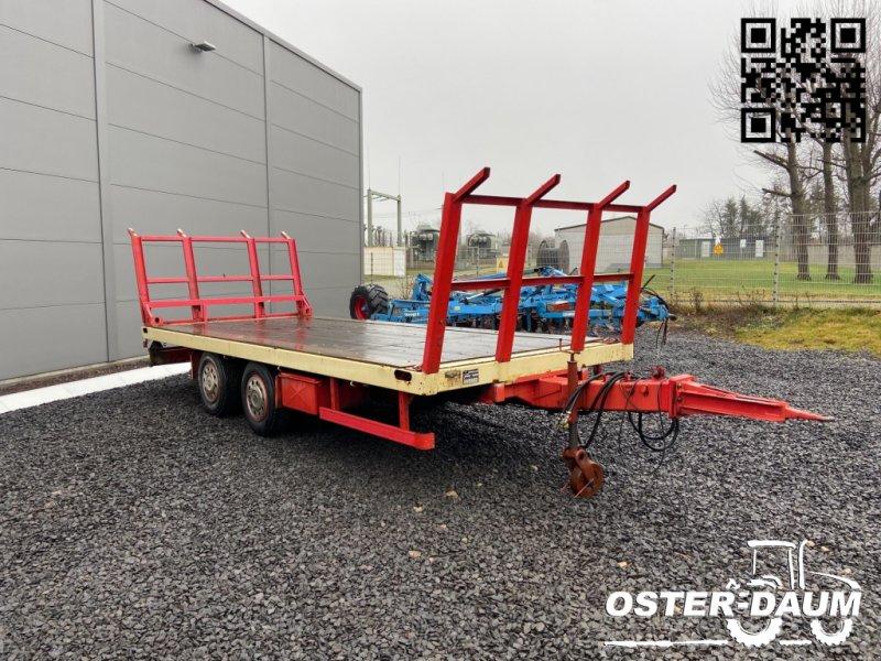 Tieflader tipa Maximum Tandem Tieflader 13,5 t Plattform Ballenanhänger, Gebrauchtmaschine u Kaisersesch (Slika 1)