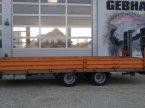 Tieflader des Typs Möslein 14 Tonnen Tandem Tieflader mit Rampen Zwillingsbereift Baumaschinen Anhänger in Großschönbrunn