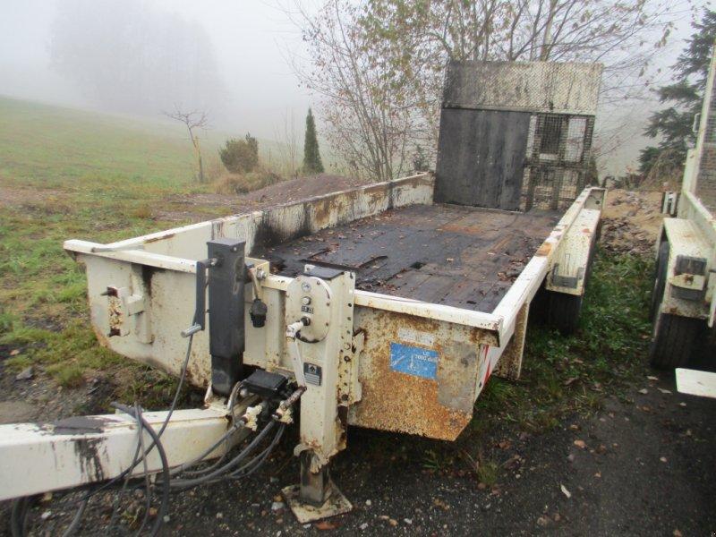 Tieflader des Typs Müller-Mitteltal Tieflader mit Rampe, Gebrauchtmaschine in Haselbach (Bild 1)