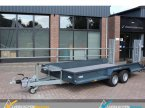 Tieflader des Typs Saris Magnum Maxx 350 Machine transporter v Vessem