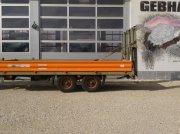 Tieflader типа Schmid Fahrzeugbau 11,9 Tonnen Tandem Tieflader verzinkt mit Rampen Baumaschinen Anhänger, Gebrauchtmaschine в Großschönbrunn