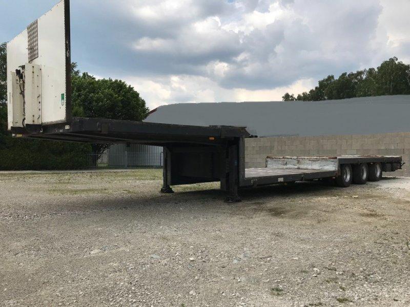 Tieflader des Typs Schmitz Tiefladeplateau gekröpt Tiefbett STROH / BALLEN, Gebrauchtmaschine in Großkarolinenfeld bei Rosenheim / B15 (Bild 1)