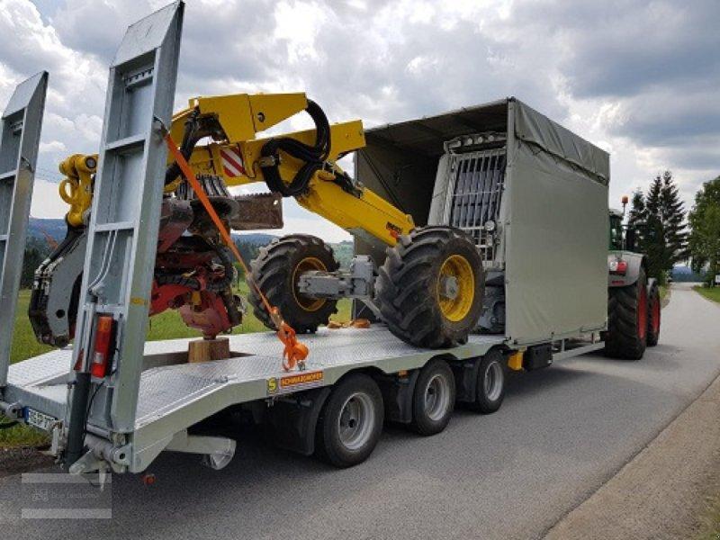 Tieflader des Typs Schwaighofer Tridem 27to Zwangslenkung, Gebrauchtmaschine in Eging am See (Bild 7)