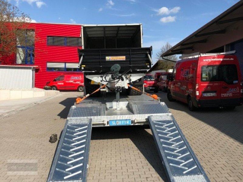 Tieflader des Typs Schwaighofer Tridem 27to Zwangslenkung, Gebrauchtmaschine in Eging am See (Bild 15)