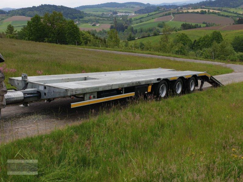 Tieflader des Typs Schwaighofer Tridem 27to Zwangslenkung, Gebrauchtmaschine in Eging am See (Bild 4)