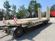 Tieflader des Typs Schwarzmüller 30 t 3 Achser, Verbreiterung auf 3 m, Rungen, Gebrauchtmaschine in Rain