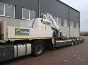 Tieflader of the type Sonstige Diversen Varmo with pesci 61TM crane, Gebrauchtmaschine in Barneveld