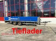 Tieflader des Typs Sonstige TAT-K 110 Tandempritsche - Tieflader, Gebrauchtmaschine in Schwebheim