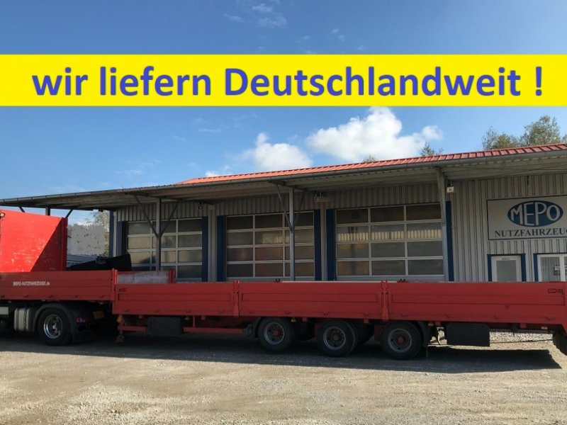 Tieflader a típus Sonstige Tieflader gekröpft Lift/BPW/HU/SP/ TOP, Gebrauchtmaschine ekkor: Großkarolinenfeld bei Rosenheim / B15 (Kép 1)