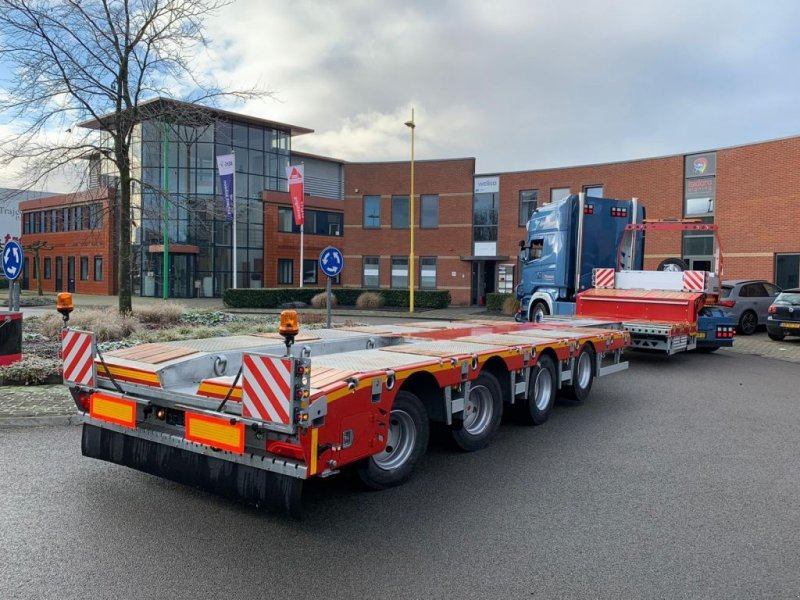 Tieflader типа Sonstige VEGA Trailer Dieplader, Gebrauchtmaschine в Antwerpen (Фотография 1)