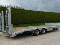 Sonstige Veldhuizen 17,0-tons Tandem semi-dieplader aanhangwagen Επίπεδη ρυμούλκα