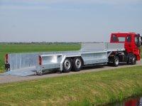 Sonstige Veldhuizen 25,0-tons Luchtgeveerde dieplader oplegger Επίπεδη ρυμούλκα