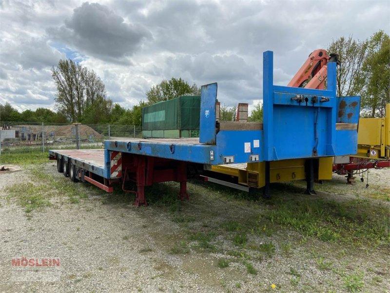 Tieflader des Typs STP 3 Achs Satteltieflader Platofür Fertigteile oder B, Gebrauchtmaschine in Schwebheim (Bild 1)