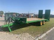 Tieflader des Typs Tinaz 12 tons maskintrailer John Deere grøn - til omgående levering, Gebrauchtmaschine in Ringe