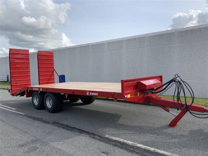 Tieflader des Typs Tinaz 12 tons maskintrailer med hydrauliske bredde ramper, Gebrauchtmaschine in Ringe (Bild 2)