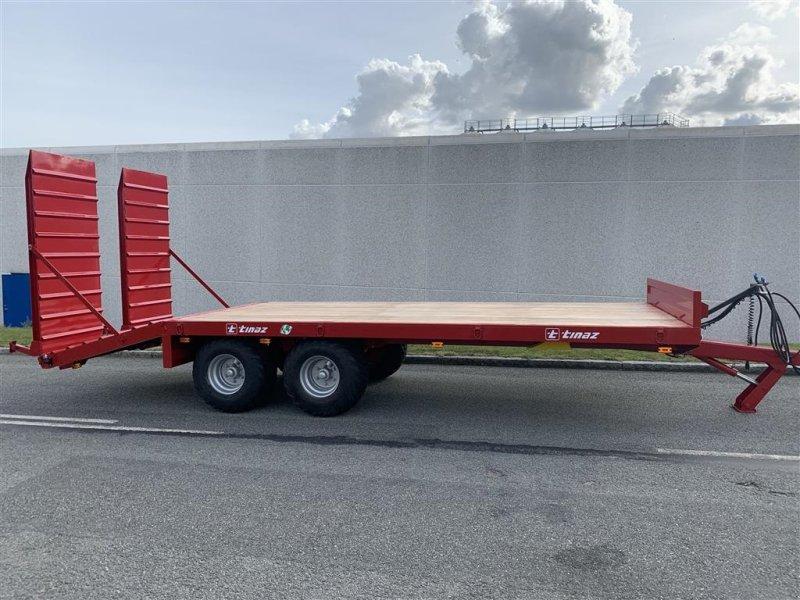 Tieflader des Typs Tinaz 12 tons maskintrailer med hydrauliske bredde ramper, Gebrauchtmaschine in Ringe (Bild 5)