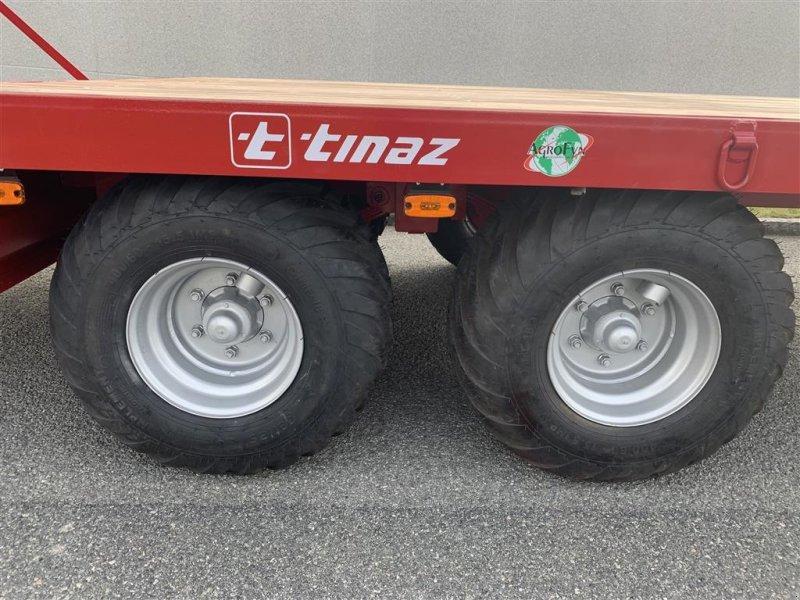 Tieflader des Typs Tinaz 12 tons maskintrailer med hydrauliske bredde ramper, Gebrauchtmaschine in Ringe (Bild 7)
