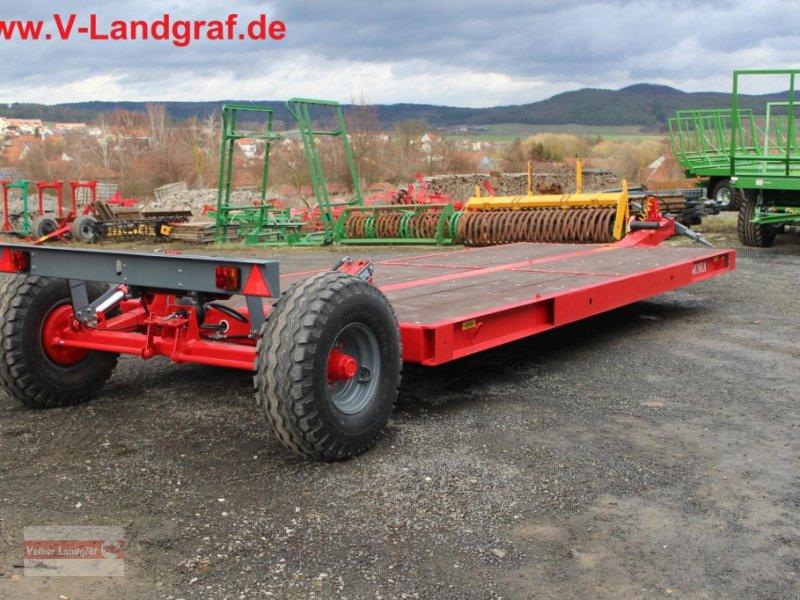 Tieflader des Typs Unia PL6, Neumaschine in Ostheim/Rhön (Bild 1)