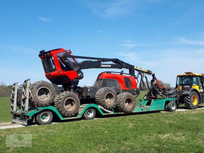Tieflieger типа Ebert 3 Achsen Anhänger lang und breit Version 24t NL, Gebrauchtmaschine в March (Фотография 1)