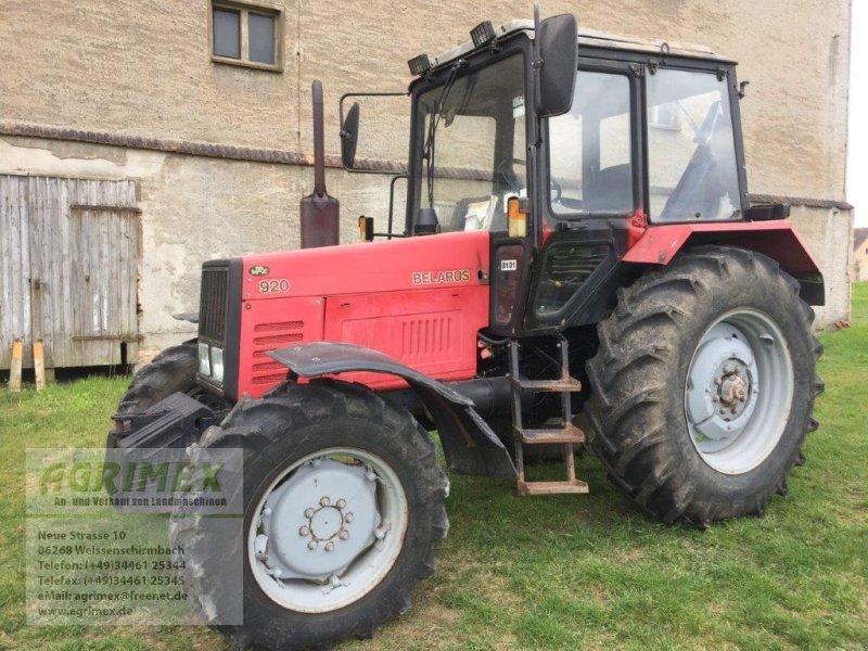 Traktor des Typs Belarus MTS 920, Gebrauchtmaschine in Weißenschirmbach (Bild 1)