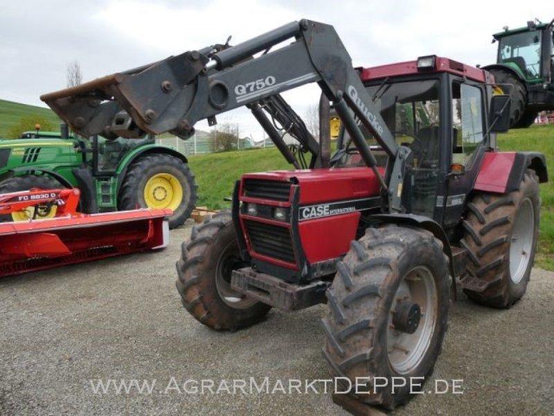 Traktor des Typs Case IH 1056 XLA, Gebrauchtmaschine in Lauterberg/Barbis (Bild 1)