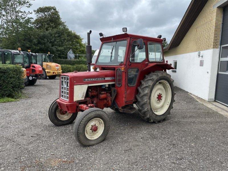 Traktor des Typs Case IH 474, Gebrauchtmaschine in Dronninglund (Bild 1)