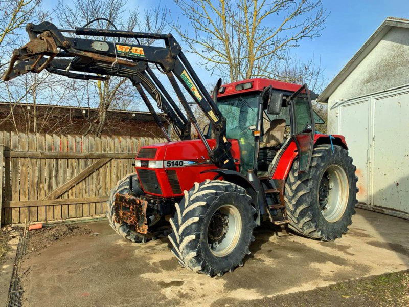 Traktor typu Case IH 5140 Frontlader+Druckluft+ 40 Kmh, Gebrauchtmaschine v Kutenholz (Obrázok 1)