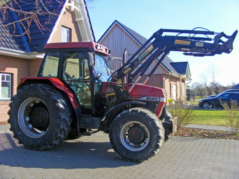 Traktor des Typs Case IH 5140 Frontlader+Druckluft+Klima, Gebrauchtmaschine in Kutenholz (Bild 1)