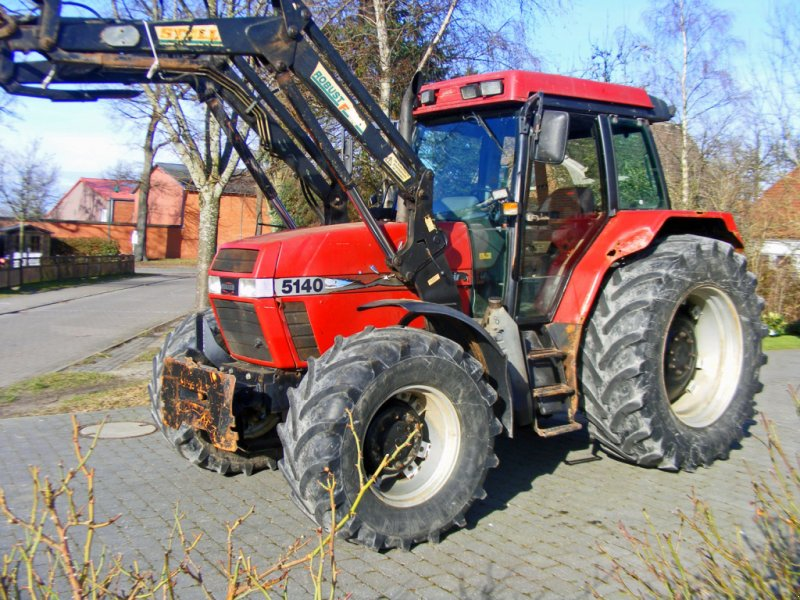 Traktor des Typs Case IH 5140 Frontlader+Klima+ Druckluft, Gebrauchtmaschine in Kutenholz (Bild 1)
