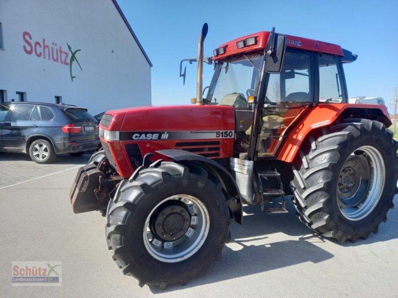 Traktor des Typs Case IH 5150 Maxxum, FH, FZW, Gebrauchtmaschine in Schierling (Bild 1)