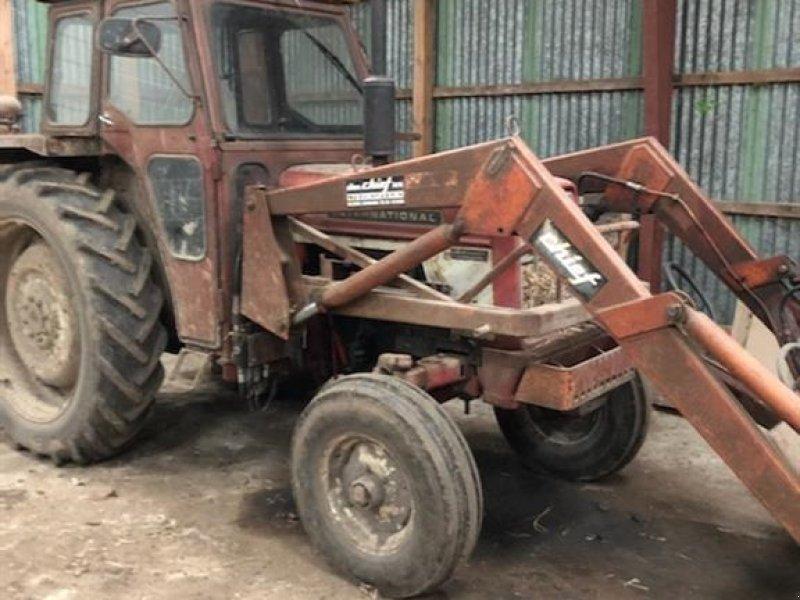 Traktor typu Case IH 574 m/frontlæsser, Gebrauchtmaschine w Haderup (Zdjęcie 1)