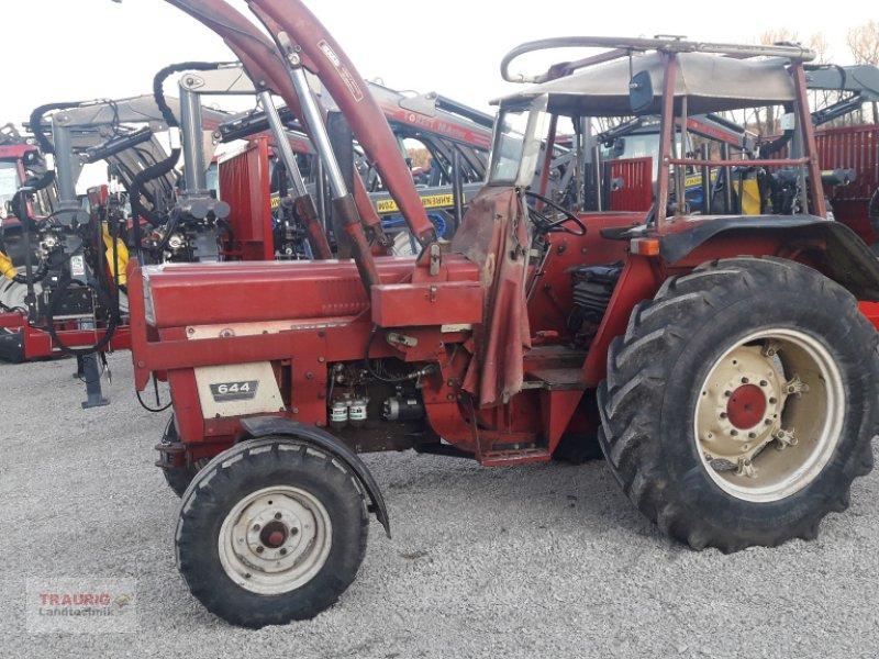Traktor des Typs Case IH 644 mit Frontlader, Gebrauchtmaschine in Mainburg/Wambach (Bild 1)