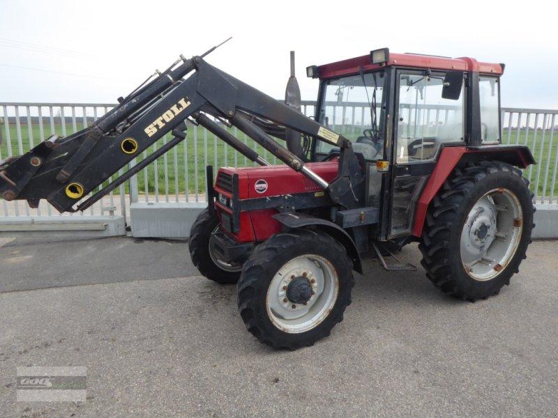 Traktor des Typs Case IH 733S Allr. mit Stoll Ind-Lader. Technisch Okay! 5800 Std., Gebrauchtmaschine in Langenzenn (Bild 1)